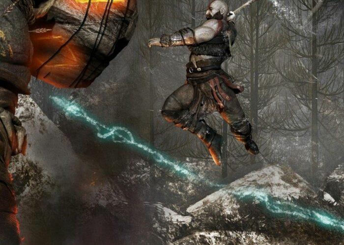 God of war 4 wallpaper 4k