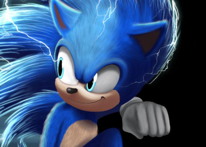 Sonic 4k wallpaper