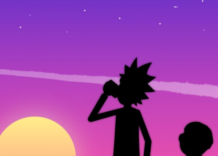Wallpaper rick and morty de celular para android e iphone