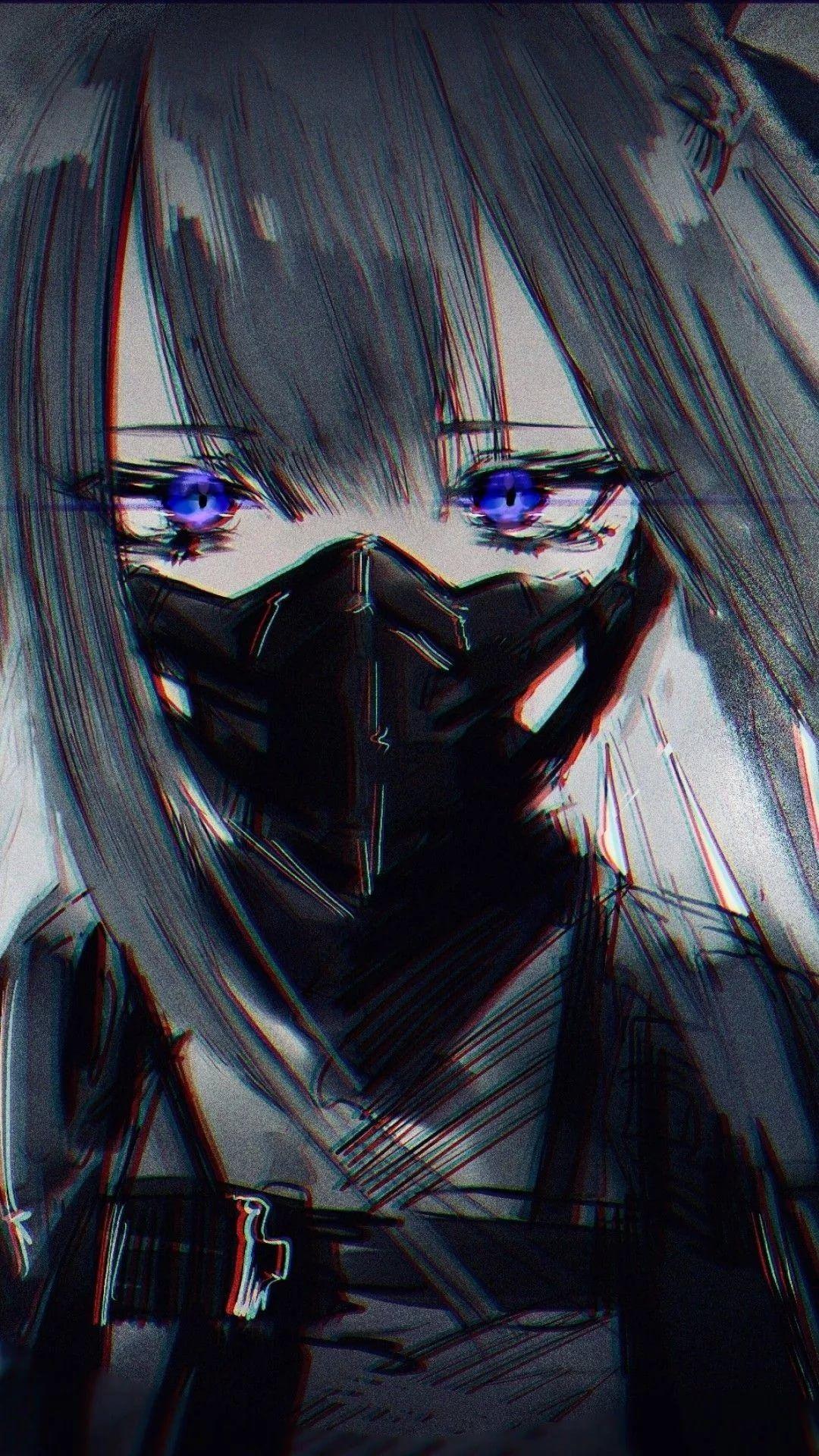 Wallpaper anime dark
