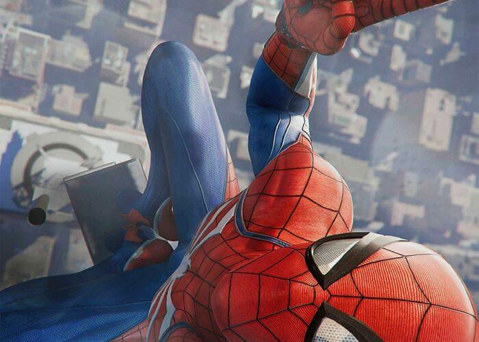 Spider man ps4 wallpaper 4k