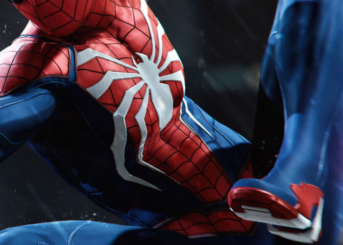 Wallpaper spider man ps4