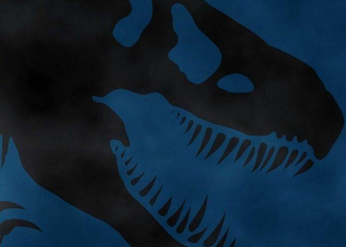 Jurassic park blue wallpaper