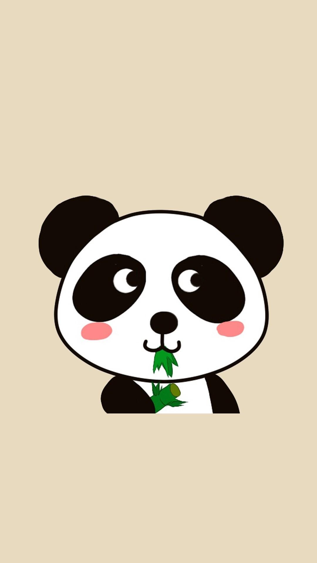 Kawaii panda bear wallpaper