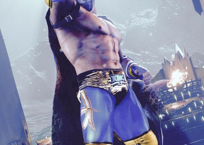 Tekken king wallpaper